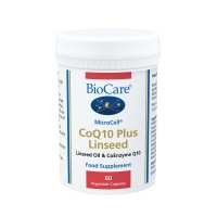 BioCare Microcell CoQ10 Plus Linseed - 60